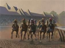 Peter Howell - Horses Racing, Saratoga Springs