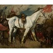Charles Wellington Furse - Study - Equestrian Portrait