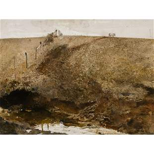 Andrew Wyeth - Over the Hill