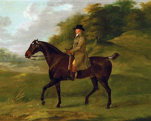 Sartorius, John N.  - Gentleman on a Bay Hunter
