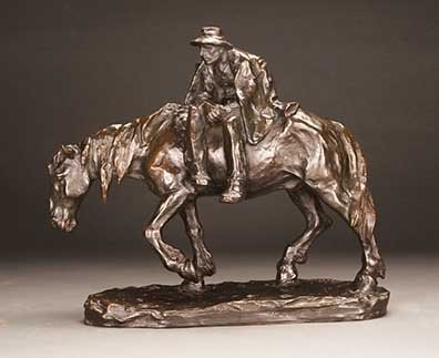 Muller, Hans - Paysan alsacien a cheval