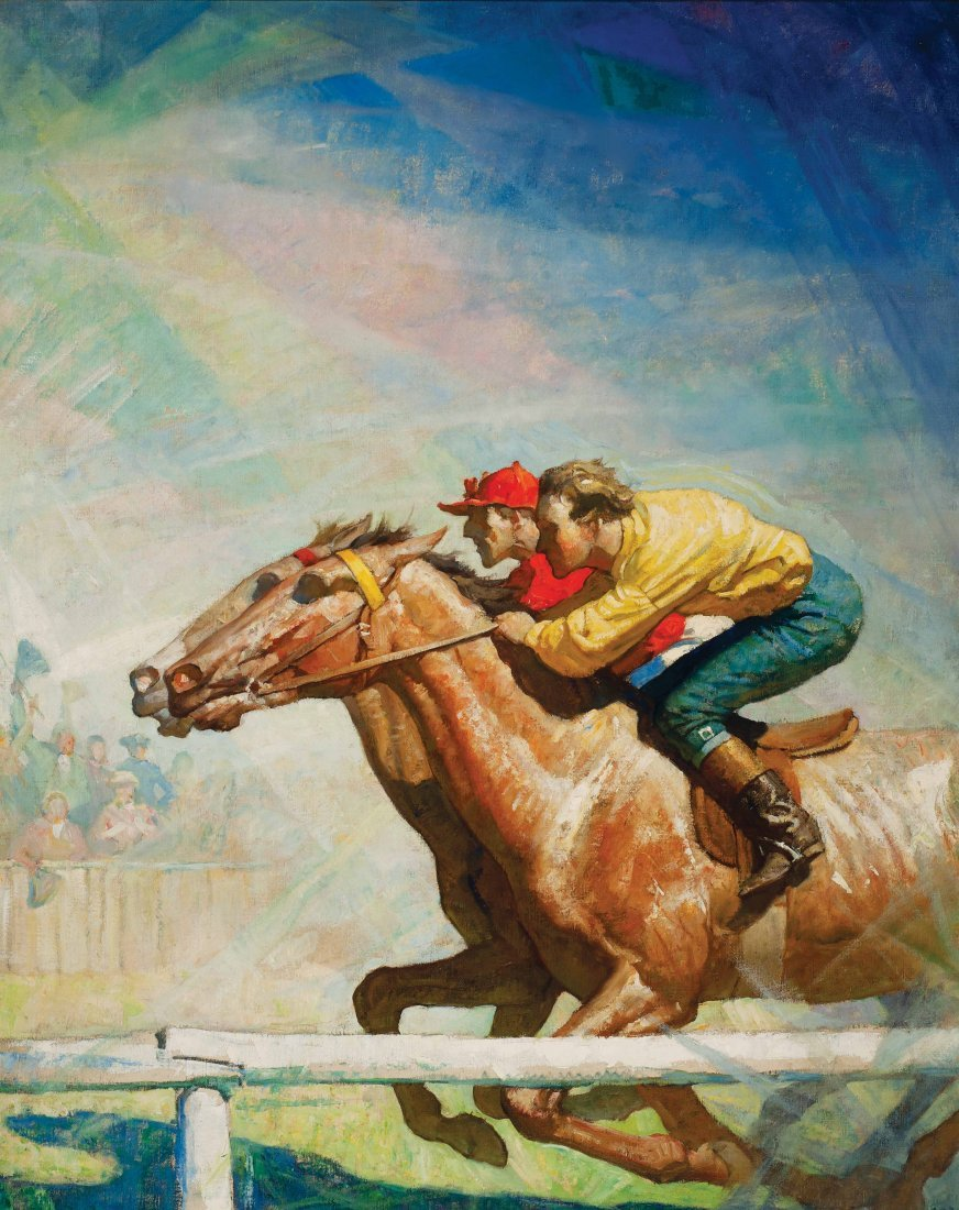 Wyeth, N.C. (Newell Convers) - The Horse Race