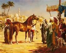 When Bargaining Gets Tight, Arabian Stallion 'Muscat'
