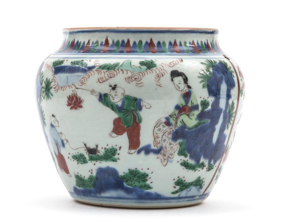 A Famille-Verte Jar