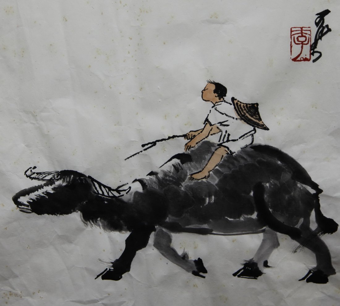 A Chinese 'Figure' Painting