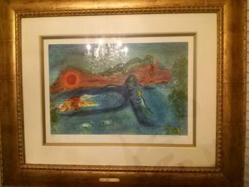 "Marc Chagall Daphnis & Chloe "" Dorcon's Death """