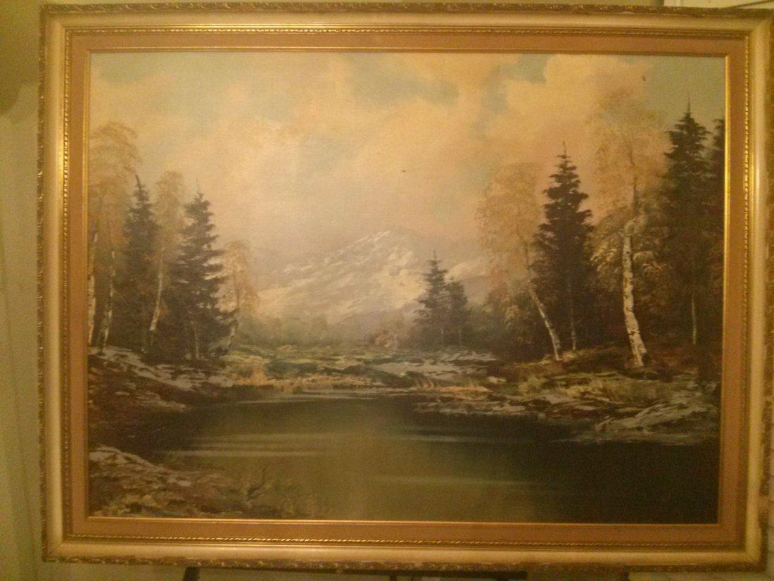 Josef Fellner (1892-1957) German Oil Painting