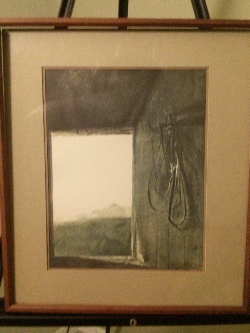 "Andrew Wyeth ""Burning Off"""
