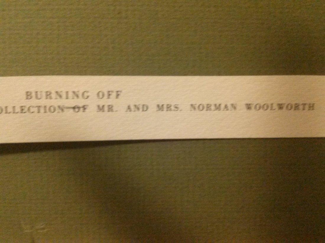 "Andrew Wyeth ""Burning Off"" - 5"