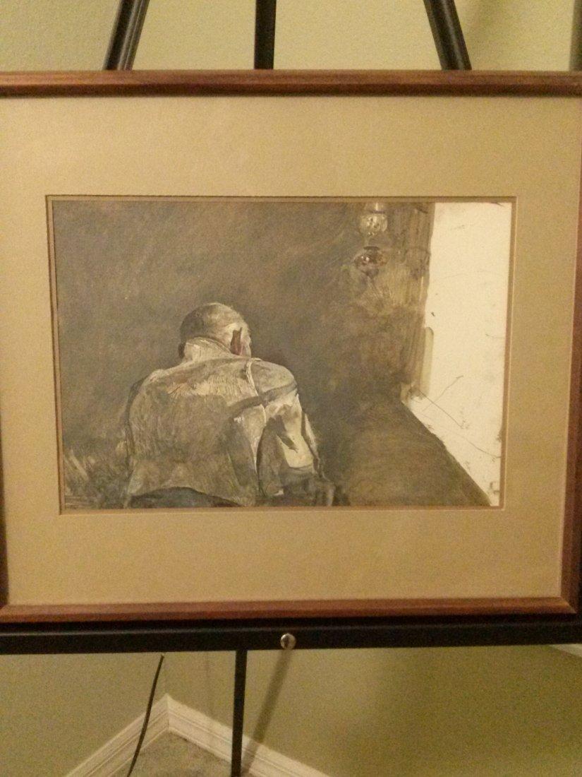 "Andrew Wyeth ""Spring Sun"" 1958"