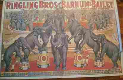 Rare: RINGLINGS BROS AND BARNUM & BAILEY