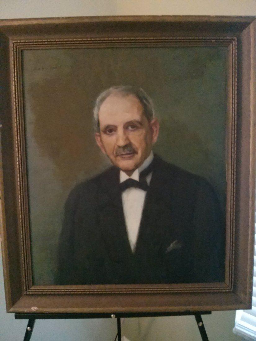 Oil Painting, Otto John Herschel(1871-1937) Portrait
