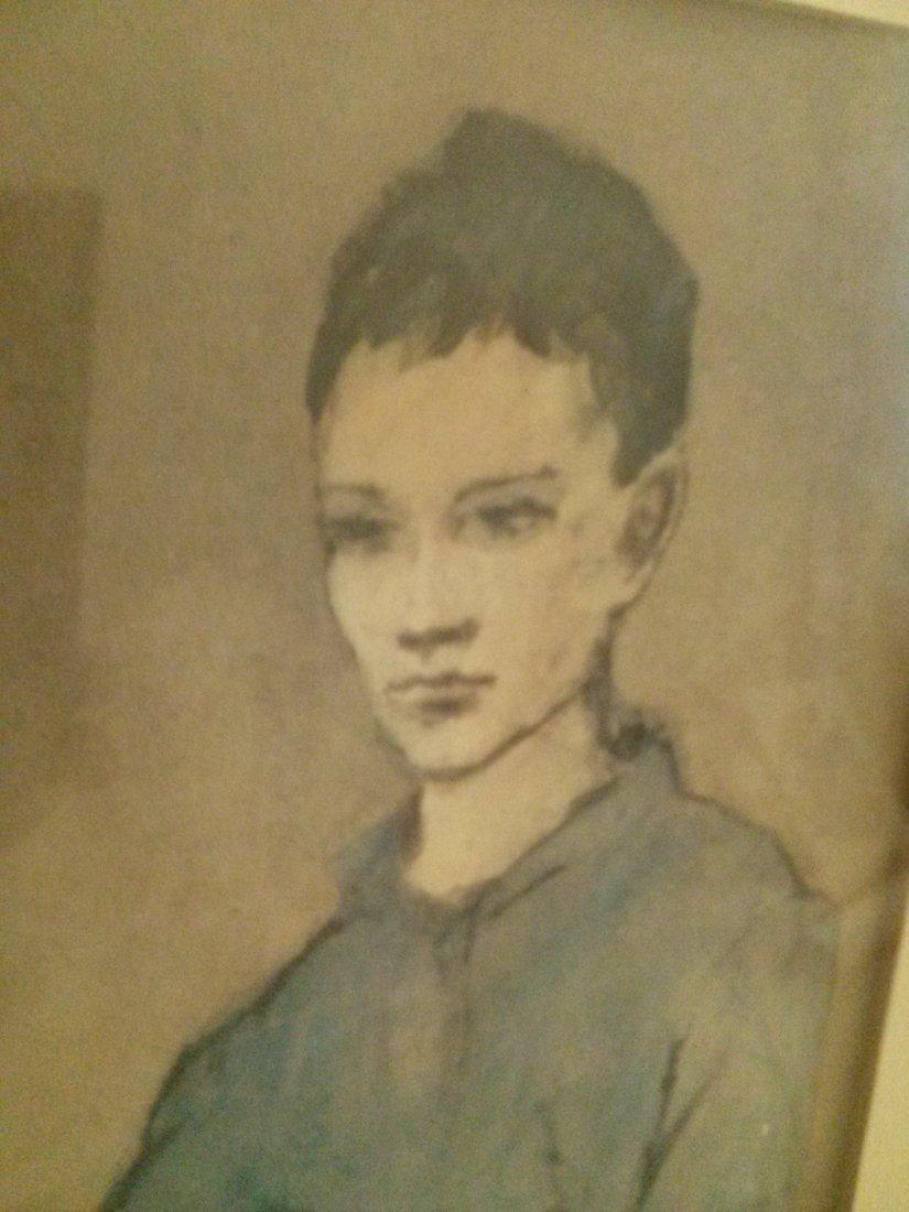 Picasso Litho Vintage Print Framed