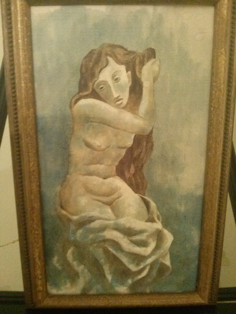 Picasso Style Painting,
