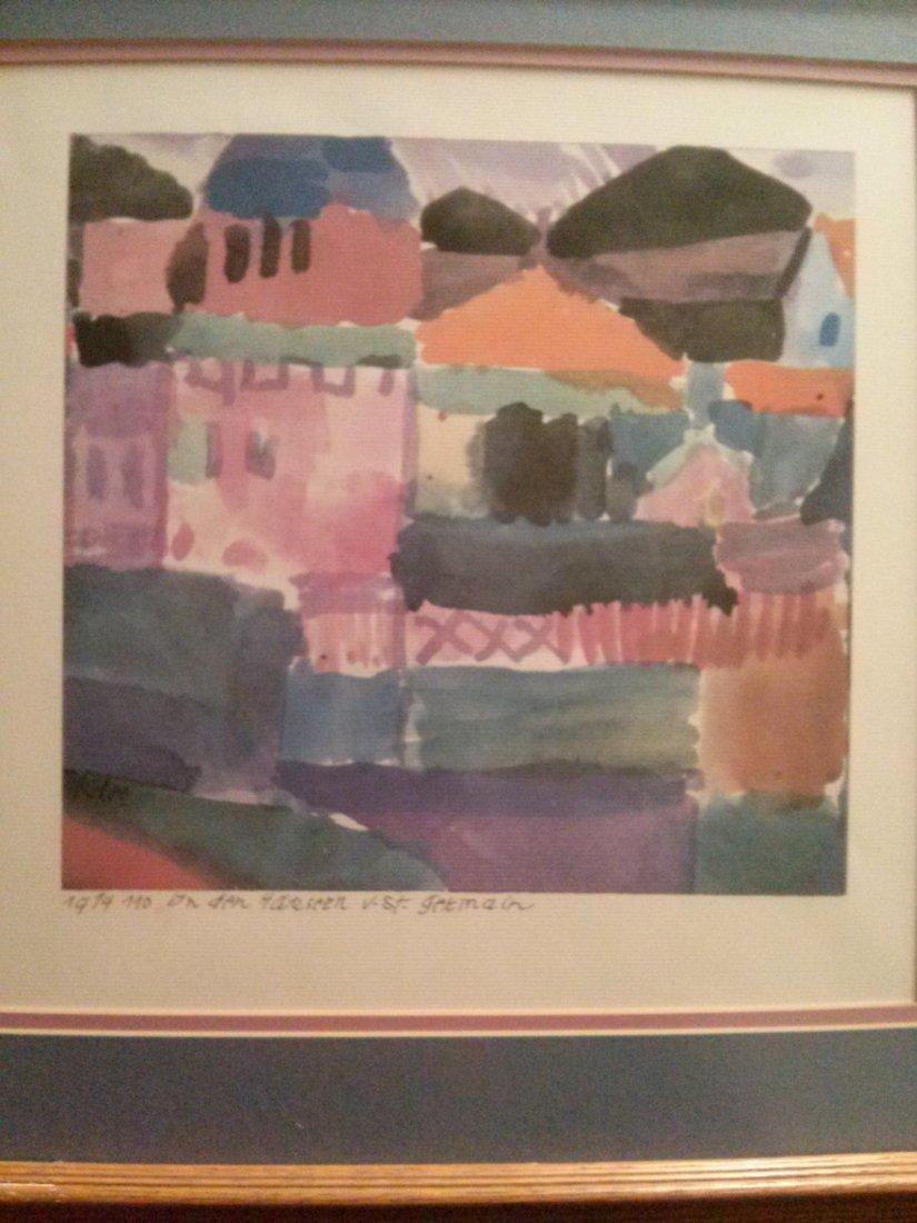 Paul Klee Lithograph Print