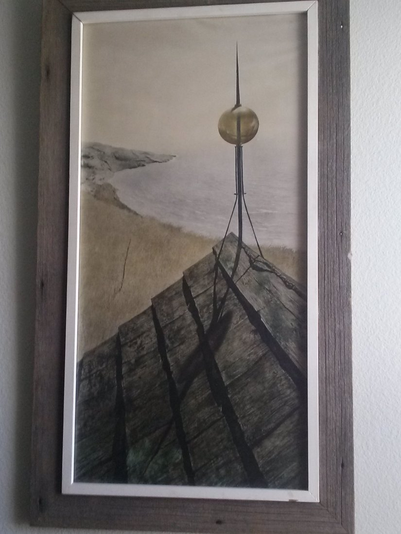Northern Point, Andrew Wyeth Lithograph