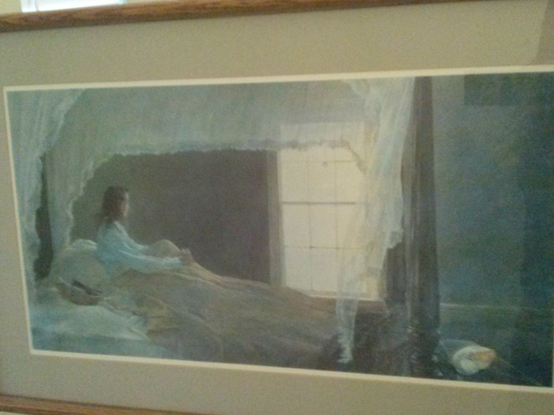 Andrew Wyeth Lithograph - CHAMBERED NAUTILUS