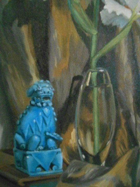 Irene Caroline Anderson Oil Painting, still life