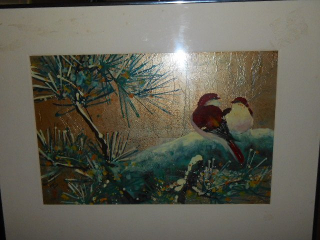 DOMINIC TOMING CHENG ACRYLIC ON FOIL LISTED ARTIST