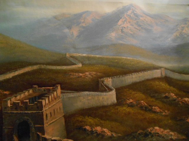 The Great Wall of China Oil Painting