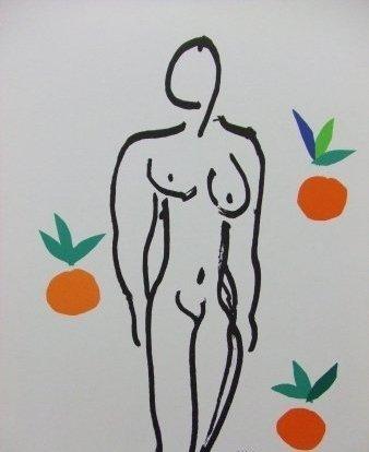 Henri Matisse Silk Screen Print