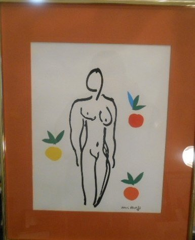 Henri Matisse Silk Screen Print - 4