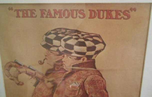 """""""The famous Dukes"""" Tobacco Advertisement Lithograph - 3"""