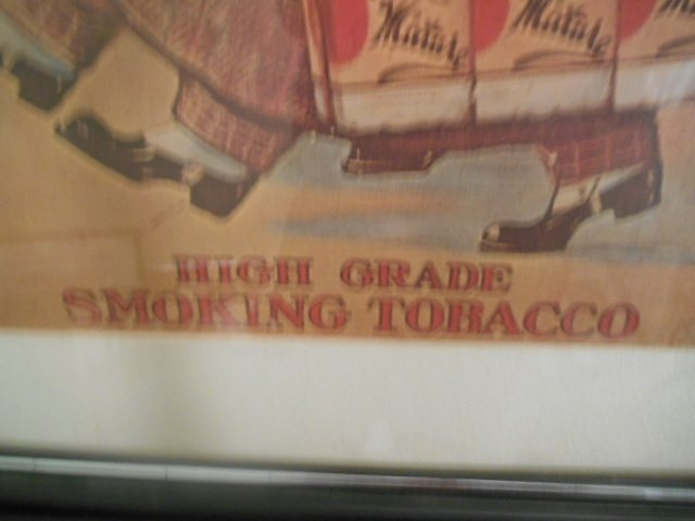 """""""The famous Dukes"""" Tobacco Advertisement Lithograph - 4"""