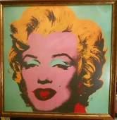 Andy Warhol, Marilyn Pop Art lithograph American Series