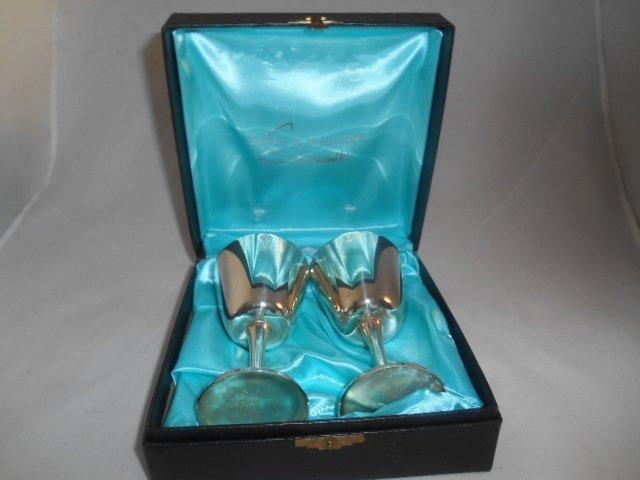 Burke & Wallace 264 Wine Chalice Gobblet Box Set