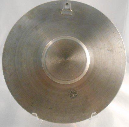 Zinn Becker Stuttgart Pewter Plate(95% gegossen) - 2