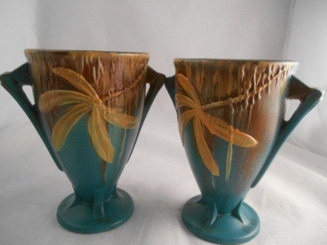 Rare Roseville Vases