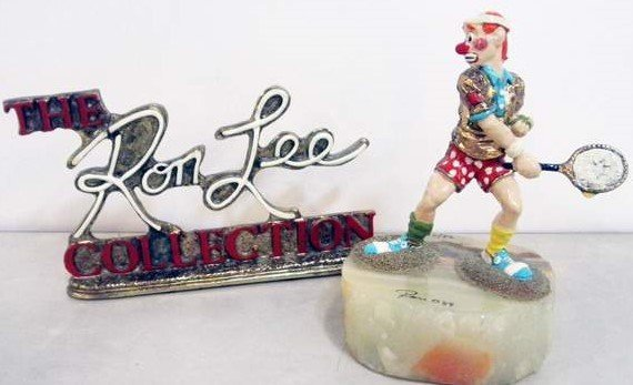 Ron Lee Early Retired,  Tennis Player Clown /Rare Sign