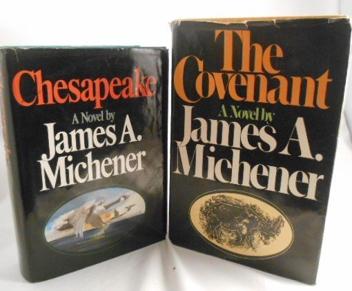 """James A. Michener, """" The Covenant"""" and """"Chesapeake"""""""