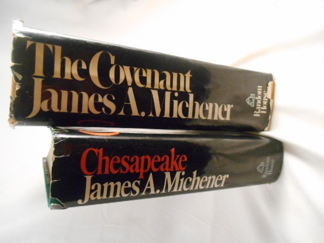 """James A. Michener, """" The Covenant"""" and """"Chesapeake"""" - 2"""
