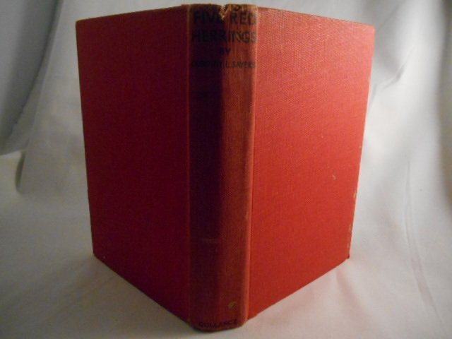 """Dorothy L. Sayers, """" The Five Red Herrings""""  1935"""