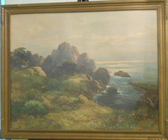 A Robert Woods Original Early Painting