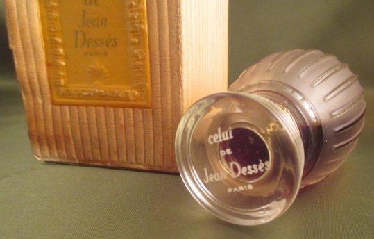 Jean DESSES CELUI Perfume Sealed w/ Presentation Box - 4