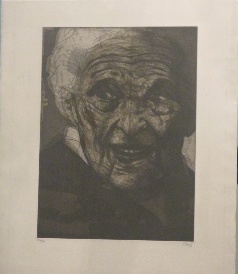 Marc Chagall Print by Jose Fors signed /numbered 26/50