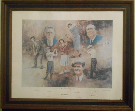 """Dom Lupo """"Hall of Fame""""  Original Lithograph Signed"""