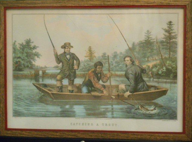 Nathaniel Currier, A.F. Tait  Print