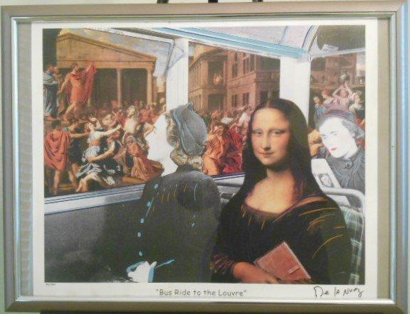Nelson De La Nuez Original Print , Signed and Numbered