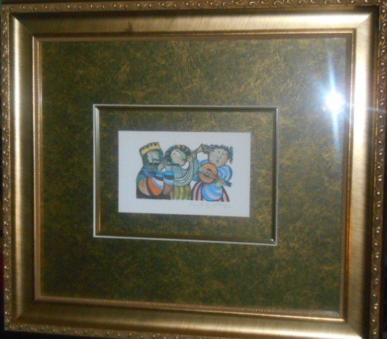 G Rodo Boulanger Original Lithograph Signed