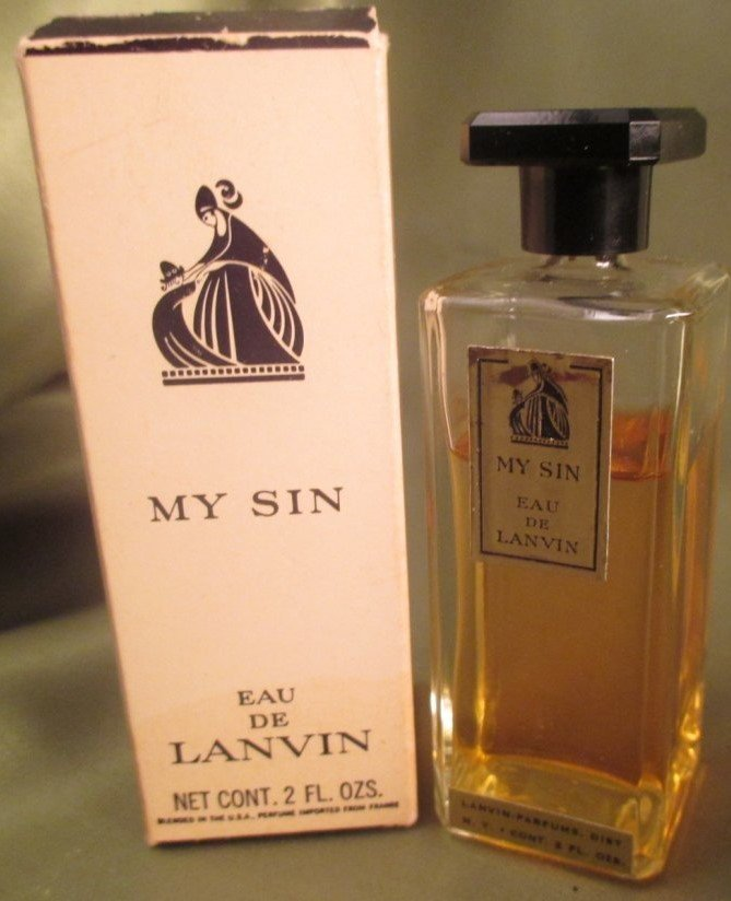 "Lanvin Vintage Perfume Lot ""My Sin"" & "" Arpege eau de"" - 2"