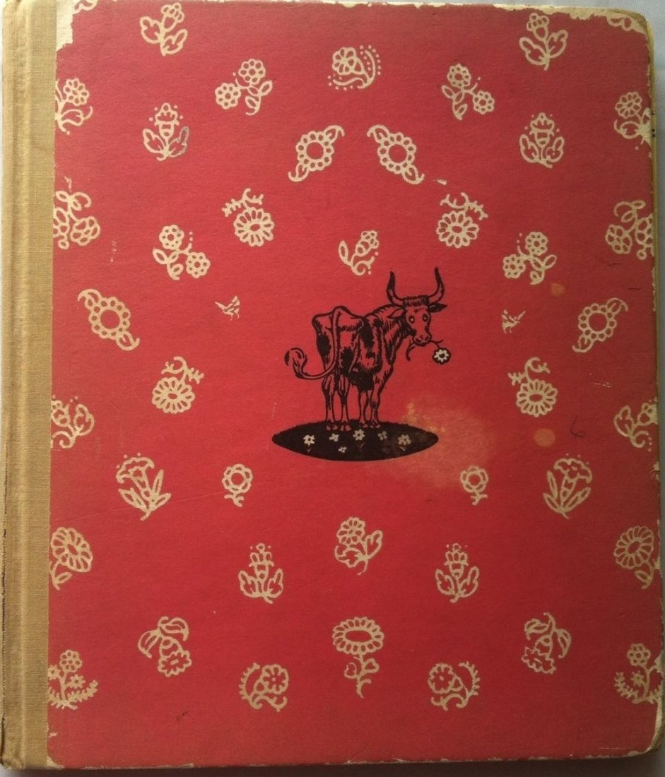 The Story of FERDINAND by Munro Leaf 1936 Signed!