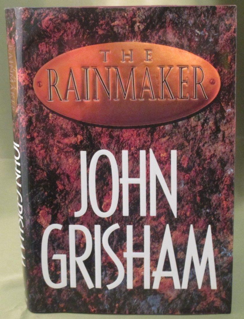 """John Grisham """" The Rainmaker""""1st Ed. 1st Printing HC/DJ"""