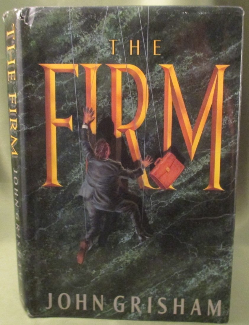 """John Grisham """" The Firm """"1st Edition (stated) Hardcover"""