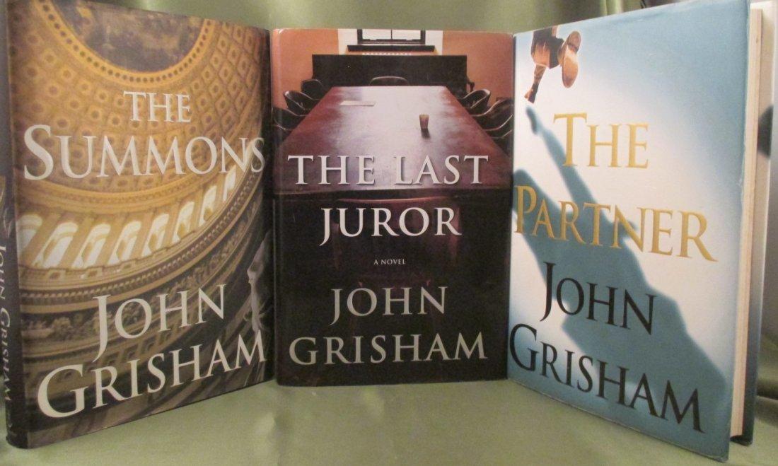 John Grisham  First Edition Novel Lot