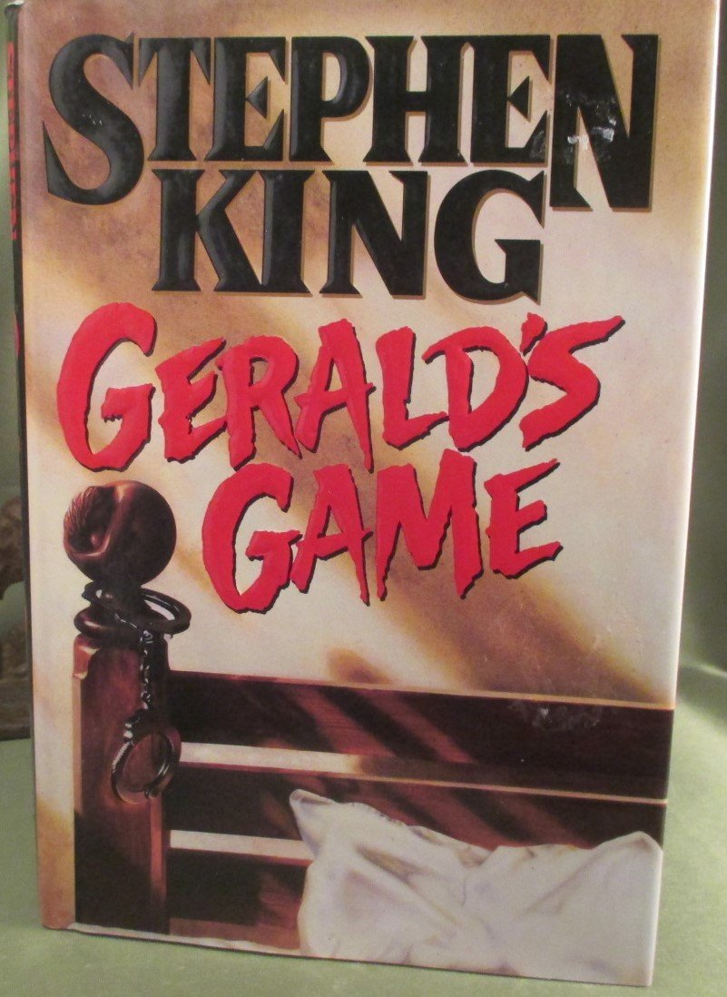 """Stephen King """" GERALD'S GAME """" first Ed/ first Printing"""