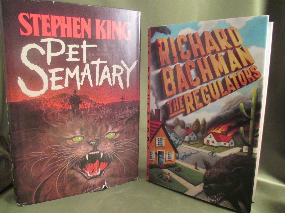 "Stephen King ""Pet Sematary"" R.Bachman ""The Regulators"""